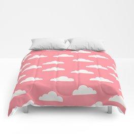 Clouds Pink Comforters