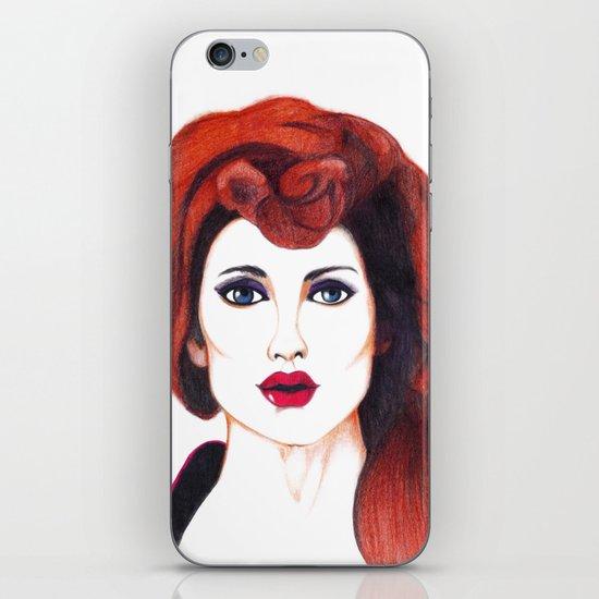 Fashion Portrait  iPhone & iPod Skin