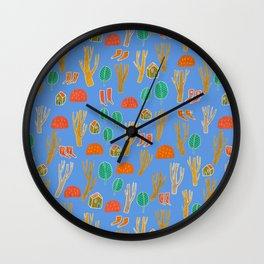 Pattern Project #3 / Forest Life Wall Clock