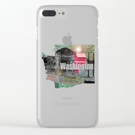 Snoqualmie Clear iPhone Case