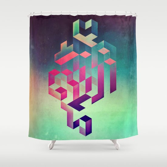 isyhyrtt dyymyndd spyyre Shower Curtain