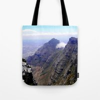 south africa Tote Bags featuring South Africa Impression 4 by Art-Motiva