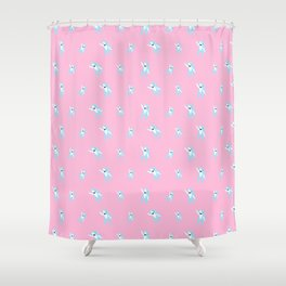 The Left Shark Shower Curtain