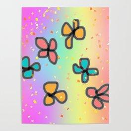 PETIT FLOWERS Poster