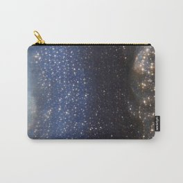 Stargazing into the Night Sky Carry-All Pouch