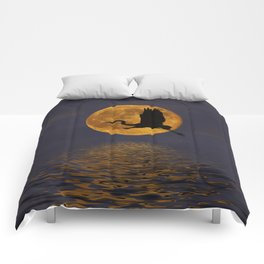 Heron & The Harvest Moon Comforters