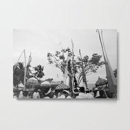 Nyepi Metal Print