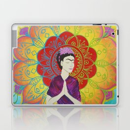 Frida Transcending Mandala and Lotus Blossom Laptop & iPad Skin