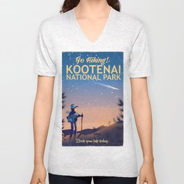 Kootenai national park Canada Unisex V-Neck