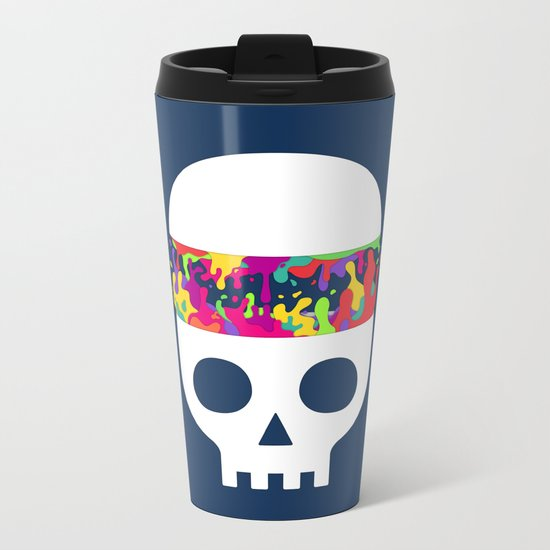 It's What's Inside that Counts Metal Travel Mug