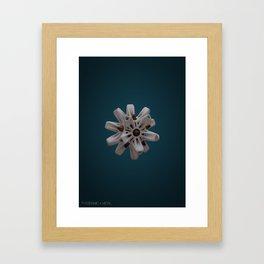 Abstract Ceramic Framed Art Print