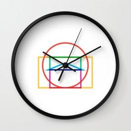 Minmal Pantheon color Wall Clock