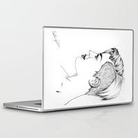 miley cyrus Laptop & iPad Skins featuring Miley Cyrus by Kfort
