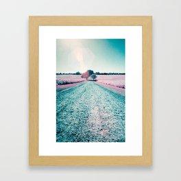 Best Farm Infrared 2 Framed Art Print