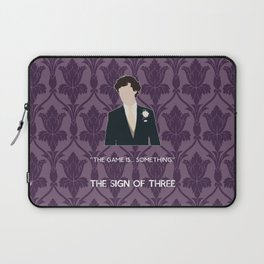 The Sign of Three - Sherlock Holmes Laptop Sleeve