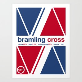 bramling cross single hop Art Print