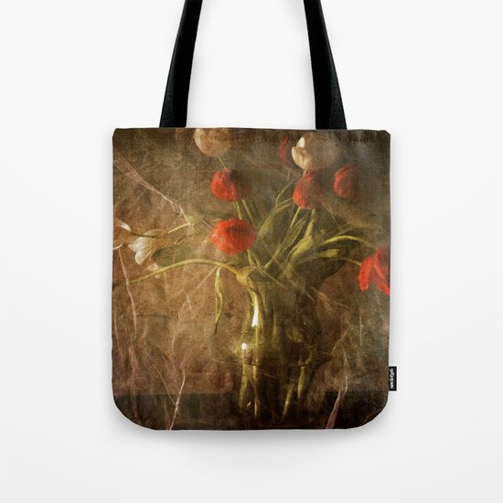 Vase with Tulips Tote Bag