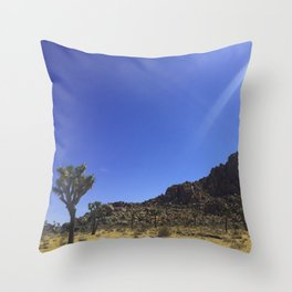 Sunbeams on a Cloudless Day Throw Pillow