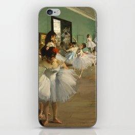 "Edgar Degas ""The dance class"" iPhone Skin"