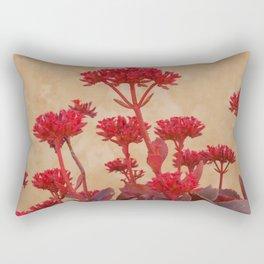 Rustic Flowers Rectangular Pillow