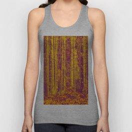 In the middle of the forest #decor #society6 Unisex Tank Top