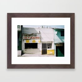 Tortilleria Framed Art Print