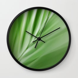 Leaf /  Noise Of Calm Wall Clock