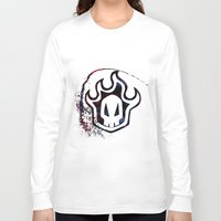 bleach Long Sleeve T-shirts featuring Bleach by Bradley Bailey