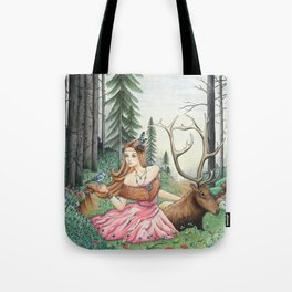 The Queen of the forest Tote Bag