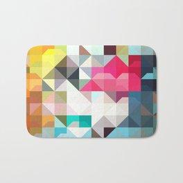 color story - pixelated warfare Bath Mat