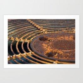 Whirr Art Print