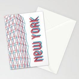 New York City pattern Stationery Cards