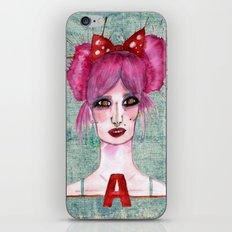 Audrey Kitching iPhone & iPod Skin