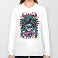 anarchy Long Sleeve T-shirts featuring Anarchy ravens by Tshirt-Factory