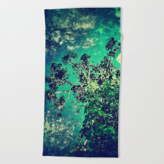 An Inner Forest Beach Towel