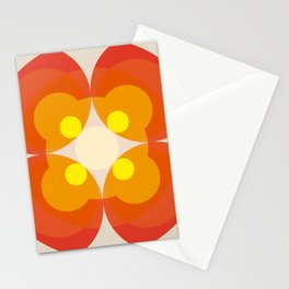 Princess Blosom  - Colorful Abstract Art Stationery Cards