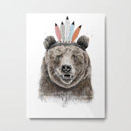 Festival bear Metal Print