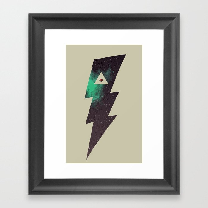 Dark Energy Framed Art Print