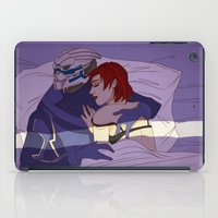 garrus iPad Cases featuring Shakarian Morning by its-liss