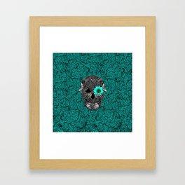 Insect Skull Framed Art Print