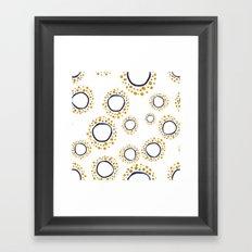 Circle of the Sun Framed Art Print