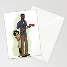 The Walking Dead Stationery Cards