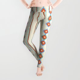 geometry navajo pattern no3 Leggings