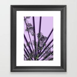 Floral Fanfare Framed Art Print