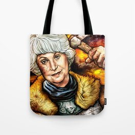 """Picture it: Sicily 1061"" Golden Girls- Bea Arthur Tote Bag"