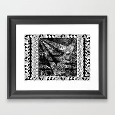Tiger and stuff Framed Art Print