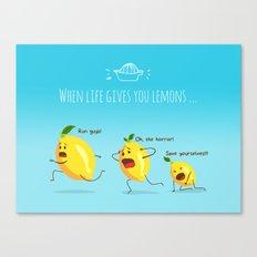 LemonAID Canvas Print