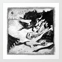 Hunted Art Print