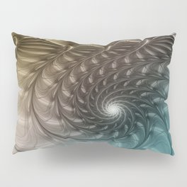 Togetherness, Fractal Art Abstract Pillow Sham