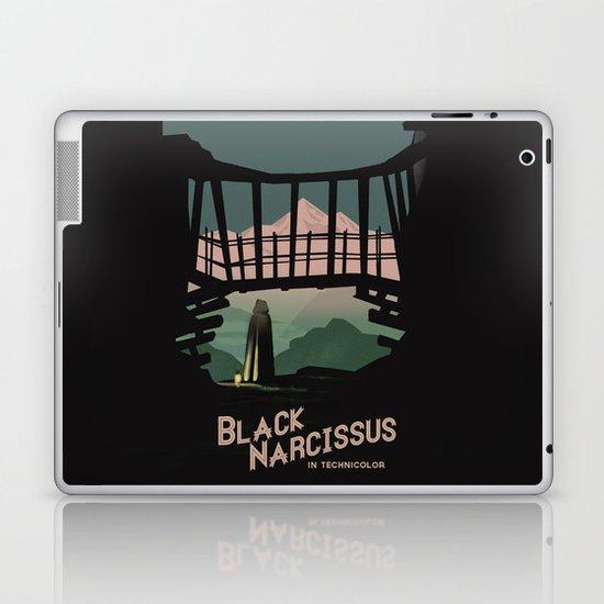 Black Narcissus Laptop & iPad Skin